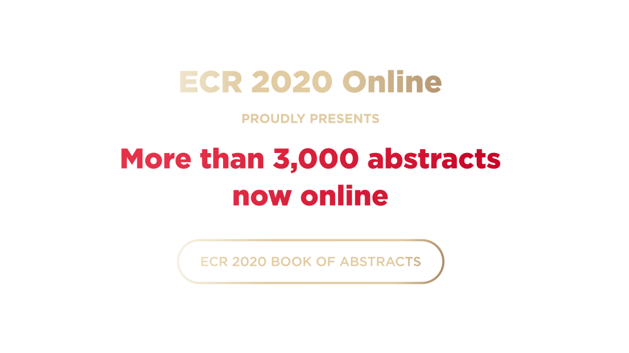 ECR2020-SE-3000_Abstracts