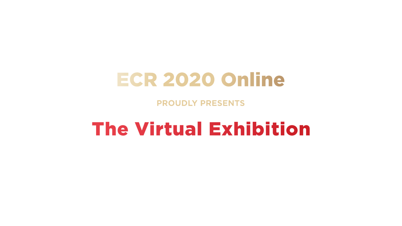 ECR 2020 - Virtual Exhibition